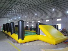 inflatable sport games inflatable soccer games Inflatable Soap Football Field Sports Game