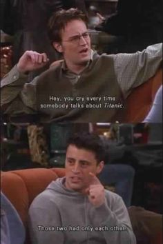 F.R.I.E.N.D.S Joey gets it