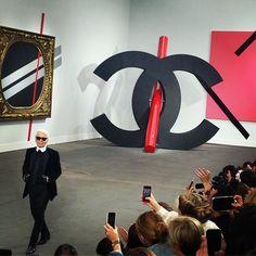 Chanel spring 2014 art show