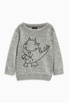 Buy Dino Crew Neck (3mths-6yrs) online today at Next: United States of America