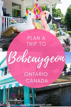 Head to Bobcaygeon Ontario for your next holiday just 90 minutes from Toronto! Enjoy local treats, beaches, coffee shops, and the heritage Trent Severn Waterway #ontario #canada #canadatravel #ontariotravel #bobcaygeon #tragicallyhip #fishandchips #beaches #lakes #boating #unicorn #trentsevern #fishing