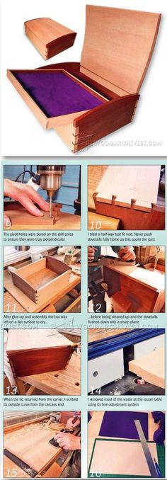Memory Box Plans - Woodworking Plans and Projects   WoodArchivist.com