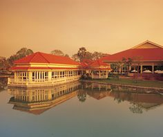 Sofitel Angkor Phokeethra Golf & Spa Resort in Siem Reap, Cambodia. Another absolutely beautiful classic Asian hotel down to the wonderful staff. Will stay here again when we return to ride elephants with Noah!