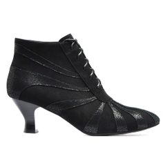 UBELL | Cinori Shoes #laceupboots #booties #ankleboots #midheel #black #classic #quirky #winter #aw14 #djangojuliette #cinori