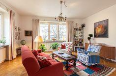 Vintage Six-Room Apartment In Ostermalm, Stockholm by Skeppsholmen