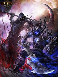 Void vs Death HellFire by Chaos-Draco on DeviantArt