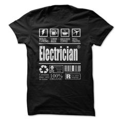 LOVE BEING AN ELECTRICIAN T-Shirts, Hoodies. CHECK PRICE ==► https://www.sunfrog.com/Automotive/LOVE-BEING-AN-ELECTRICIAN.html?id=41382