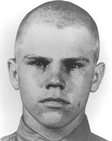 Cpl. Charles Abrell was posthumously awarded the Medal of Honor for his actions on June 10, 1951 at Hwachon, Korea.  While advancing against enemy hill positions, his platoon under heavy fire, and after being wounded twice during a single-handed assault against an enemy bunker, he pulled the pin from a hand grenade and hurled himself into the bunker, killing the enemy gun crew and himself in the explosion.