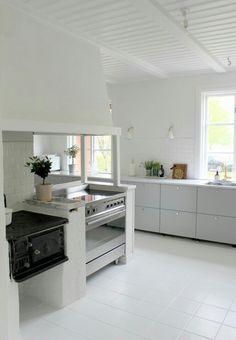 Veddinge grå Ikea Kitchen, Kitchen Island, Kitchen Cabinets, Kitchen Ideas, Cuisines Design, Beautiful Kitchens, Kitchen Design, Home Decor, Anna