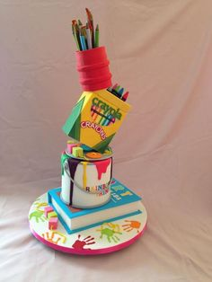 Art cake - For all your cake decorating supplies, please visit craftcompany.co.uk