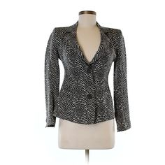 Pre-owned Armani Collezioni Blazer Size 8: Brown Women's Jackets &... ($96) ❤ liked on Polyvore featuring outerwear, jackets, blazers, brown, brown blazer, blazer jacket, armani collezioni jacket, armani collezioni and brown jacket