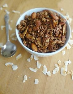 The Cooking Actress: Chocolate Peanut Butter Coconut Nutty Granola