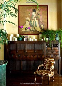 Safari Adventure / karen cox. Tropical-chic Design...Martyn Lawrence Bullard.Cheryl Tiegs home.