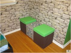 Cute Double Chairs Minecraft Design For Kid Bedroom Furniture Ideas