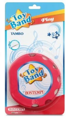 """Bontempi- Mini Tambourine by Bontempi. $3.06. Colorful and educational. Comes with instruction booklet. Ages 3+ 6 1x2"""" Diameter x 1"""" Marching Drum, Musical Toys, Musical Instruments, Musicals, Tambourine, Play, Education, Learning, Games"""