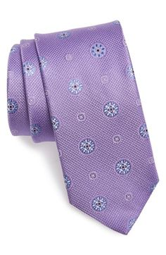 Men's John W. Nordstrom Medallion Silk Tie