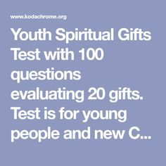 photo about Free Printable Spiritual Gifts Test named Non secular Items