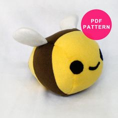 Sewing Pattern - Plushie Turtle PDF from Plush Pattern Shop