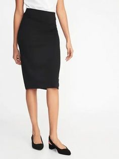 Jersey-knit midi pencil skirt for women old navy Jersey Knit Skirt, Shop Old Navy, Young Professional, All About Fashion, Skirt Fashion, Personal Style, Pencil, Stylish, My Style