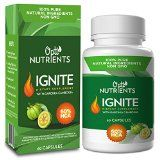 Highly Potent Garcinia Cambogia Extract Enhanced with 5 Unique Ingredients for Leptin Support and Maximum Weight Loss (#1 Formula Based on New Scientific Analysis of Clinical Weight Loss Studies) - 60 Capsules of Optinutrients Ignite - 100% Natural, Long Term Weight Loss Supplement, Appetite Suppressant, Fat Burner & Carb Blocker - Warning: Don't Take Garcinia Cambogia Until You've Read This  Hi this is Rob & Brad, founders of Optinutrients where our PASSION