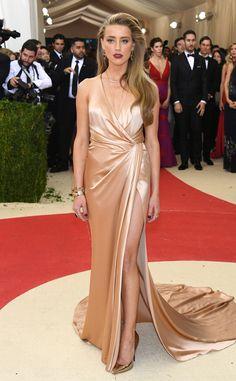 Amber Heard from Met Gala 2016: Red Carpet Arrivals  In Ralph Lauren Collection