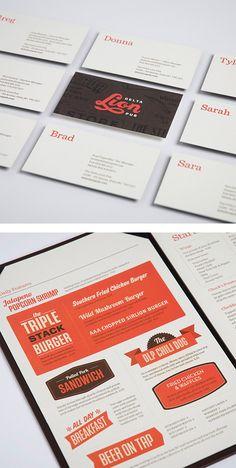 Lion Delta Pub Business Cards by St Bernadine