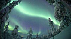 Northpole, Aurora Borealis