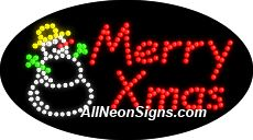 """Animated Merry Christmas LED Sign-ANSAR24357  15""""x27""""x1""""  Animated  8lbs  Indoor use only  Low energy cost: Uses ONLY 10 Watts of power  Expected to last at least 100,000 hrs  Cool and safe to touch, low voltage operation  High visibility, even in daylight  Easy to clean, Easy to install, Slim & Light Weight  Maintenance FREE  1 YEAR Warranty."""