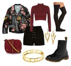 """"""""""" by stewy1113 on Polyvore featuring Gucci, River Island, WearAll, Charlotte Russe, Jérôme Dreyfuss, Dr. Martens, women's clothing, women, female and woman"""