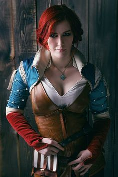 Triss Merigold - The Witcher – 12 фотокарточекъ