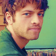 Misha Collins - hot beautiful and hot are these eyes..
