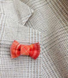 Mens Lapel Pin Bow Tie Custom Lapel Pins Men Orange Bow Lapel Pin Orange Bow Tie Pin Lapel Bow Tie Boutonniere Orange Linen Pin by exquisitelapel on Etsy https://www.etsy.com/listing/217874791/mens-lapel-pin-bow-tie-custom-lapel-pins