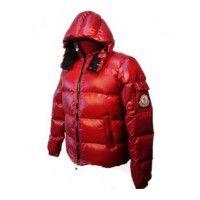 Moncler Himalaya Jackets Mens Down Red