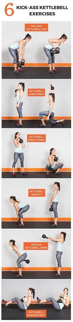 Kick-Ass Kettlebell Workout #KettlebellWorkout #fitness