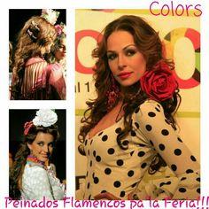 Peinados flamencos pa'la feria!