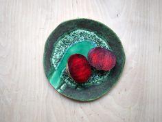 Wetlands 01 ceramic plate inspired by nature. 100% handmade work. Projectorium
