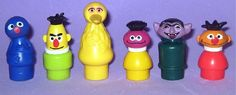 Horrible Sesame Street Little People that my cousins had that I hated.