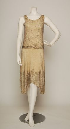 1920's Beaded Flapper Dress from The Way We Wore