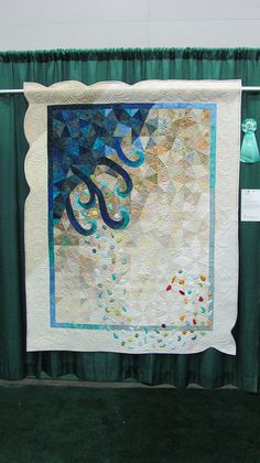 Sea Glass quilt by mainelyquiltsoflove.com