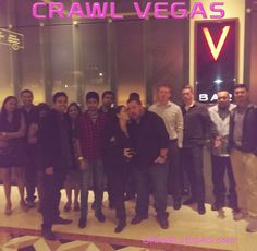 Check out #CrawlVegas for amazing nights out in the one and only, #Vegas!