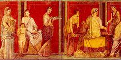 Fresco of Villa dei Misteri, Pompeii