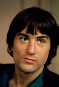 Young Robert DeNiro ~ Handsome, Sexy, Cool & I dig the fact that he loves brown/black chicks!
