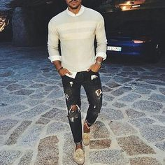 Tag someone who would rock this look @marianodivaio