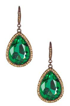 Jolie Swarovski Crystal Teardrop Earrings on HauteLook