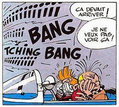 Franquin - Spirou et Fantasio Lucky Luke, Herge Tintin, Ligne Claire, Morris, Comic Strips, Pop Art, Comic Books, Animation, Comics