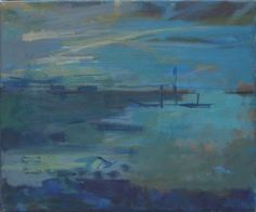 Francis Bowyer - The Blyth at Dusk