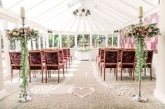 The conservatory @ Boxmoor Lodge Hotel, so pretty for a wedding venue in Hertfordshire.