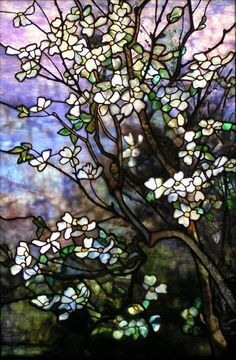 Dogwood by Stelz Studios (my glass-artistic heroes)