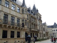 The Grand Ducal Palace - Luxembourg Center