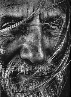 Old man #blackandwhiteportraitmen